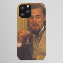 Leonardo Dicaprio laughing meme iPhone Case