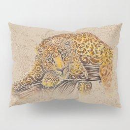 Swirly Leopard Pillow Sham
