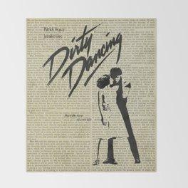 Dirty Dancing Throw Blanket
