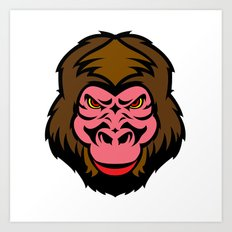 MONKEY BIZ Art Print