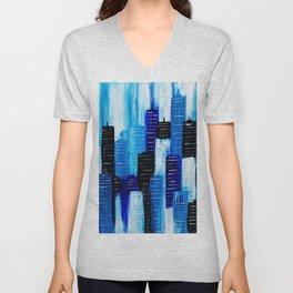 Blue City Unisex V-Neck
