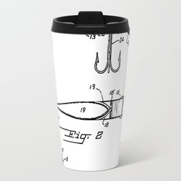 Fishing Lure patent Travel Mug