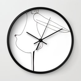 "LAROXLIP ""The invaders from Zxarcodol"" series Wall Clock"