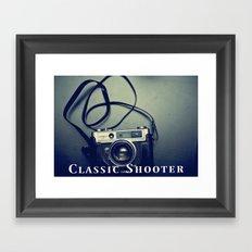 Classic Shooter Framed Art Print
