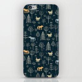 Magic Storybook Northwest Forest Pattern iPhone Skin