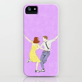 La La Land - Watercolor iPhone Case