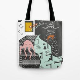 Facts urban art Tote Bag