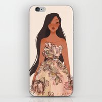 pocahontas iPhone & iPod Skins featuring Pocahontas by punziella