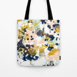 Sloane - abstract painting gender neutral baby nursery dorm college decor Tote Bag