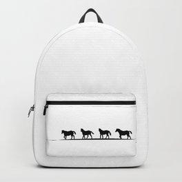 Trotting Home Backpack