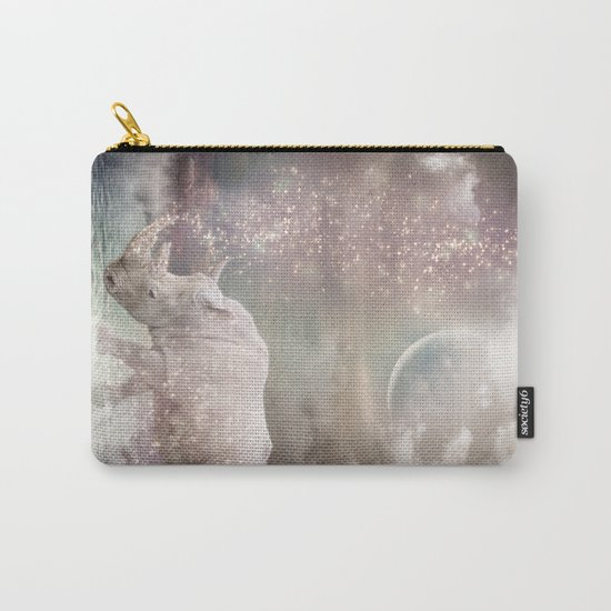 The Most Beautiful Have Known Defeat, Suffering, Struggle... (Rhino Dreams)  Carry-All Pouch