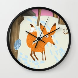"Kaliningrad ""for an adventure"" Wall Clock"