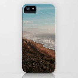 Fort Funston Park in San Francisco, California iPhone Case
