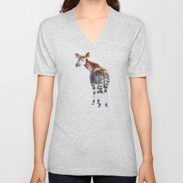 Okapi Unisex V-Neck