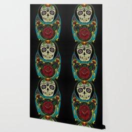 Mexican Matryoshka Wallpaper