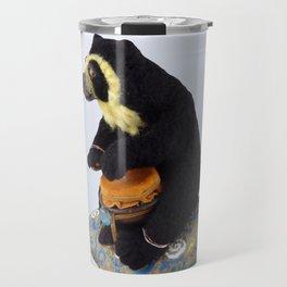 The Drummer Bear Travel Mug