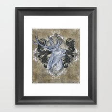 My Deer Friend Framed Art Print