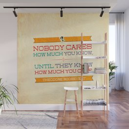How Much You Care Wall Mural