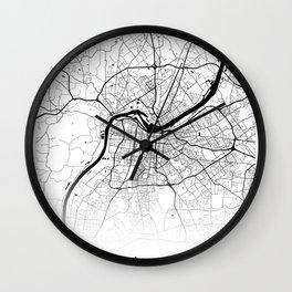 City Map Neck Gaiter Louisville Kentucky Neck Gator Wall Clock