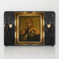 replaceface iPad Cases featuring Michael Clarke Duncan - replaceface by replaceface