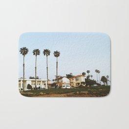 California Beach Sunset Bath Mat