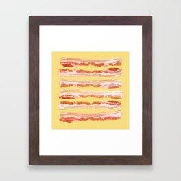 Bacon, Raw Framed Art Print