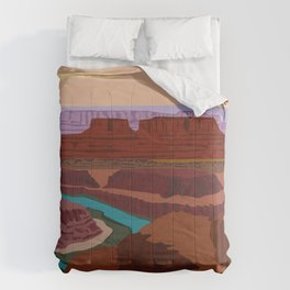 Magnificent Canyonlands National Park, Utah Comforters