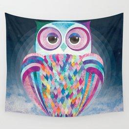 Shanti Sparrow: Luna the Owl Wall Tapestry