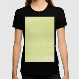 Chalky background - yellow T-shirt