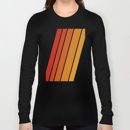Retro 70s Stripes Long Sleeve T-shirt