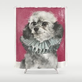 Poodle-licious Shower Curtain