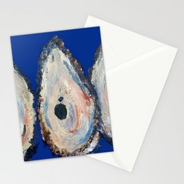 Impressionistic Oyster #3 - Three Oyster Amigos Stationery Cards