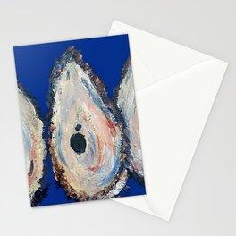 Impressionistic Oyster #3 - Three Oyster Amigos Stationery Cards
