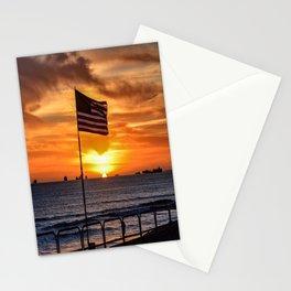 Patriot's Point (Surf City USA) Stationery Cards
