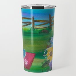 Summer Garden Travel Mug