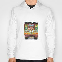 truck Hoodies featuring TRUCK ART by urvi