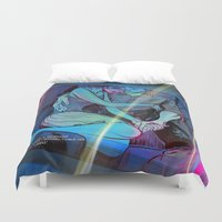 concert Duvet Covers featuring Concert Pitch by Mike Malbrough