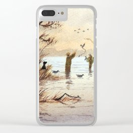 Setting The Decoys II Clear iPhone Case