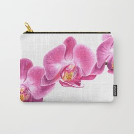 Watercolor Orchid Carry-All Pouch