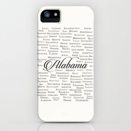 Alabama iPhone Case