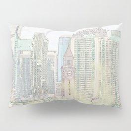 Lackawanna - Hoboken Terminal Pillow Sham