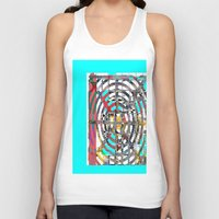 grid Tank Tops featuring COLOR GRID by  ECOLARTE