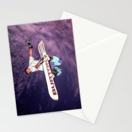 Snowboarding #2 Stationery Cards