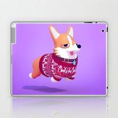 Dogs In Sweaters: Corgi Laptop & iPad Skin
