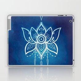 Blue Lotus Flower Mandala Laptop & iPad Skin