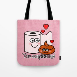 You Complete Me! Tote Bag