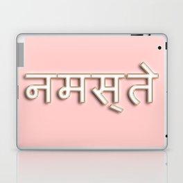 Namaste typography Laptop & iPad Skin