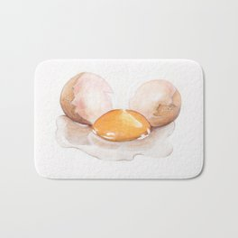 Color pencil Egg Bath Mat