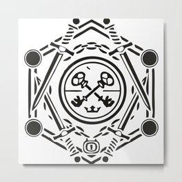 Shield! Metal Print