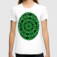 rave T-shirts featuring Rave Explosive by Julie Maxwell
